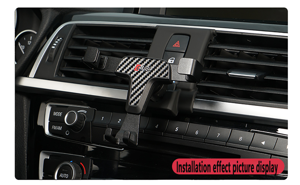 Installation effect picture display