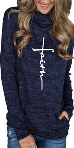 faith sweatshirt for women