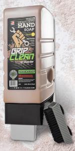 grip clean hand cleaner auto mechanic industrial soap garage pumice waterless garage degreaser grit