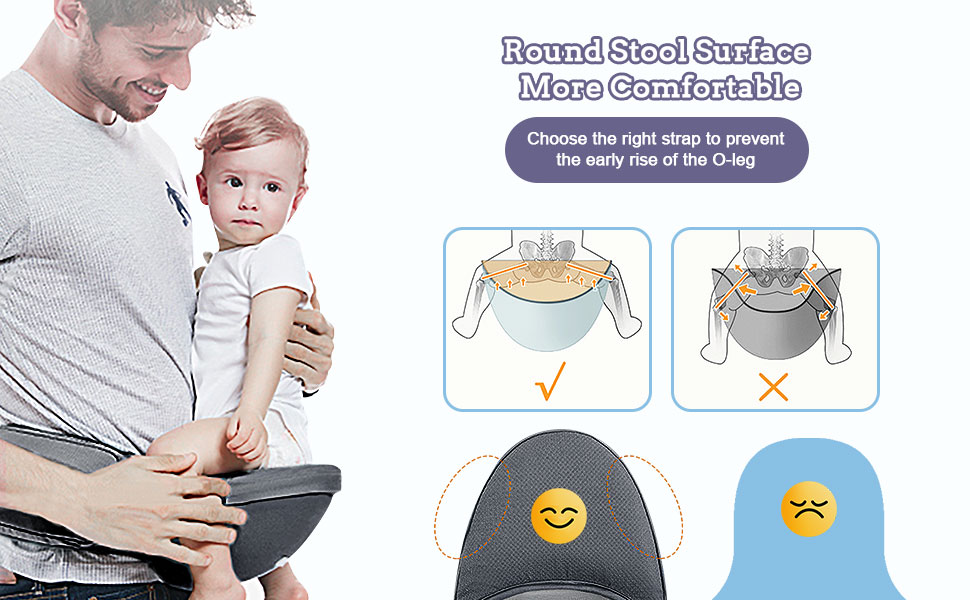 baby carrier with stool