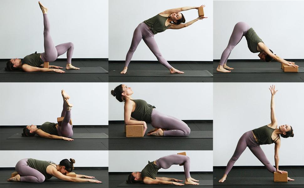 yoga brick set of 2