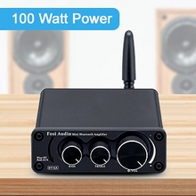 Bluetooth 5.0 Amplifier Stereo Audio Receiver 2 Channel Class D Mini Hi-Fi Integrated