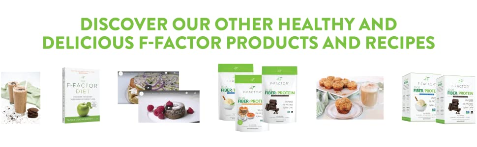 discover, healthy, products, delicious, f-factor, recipes
