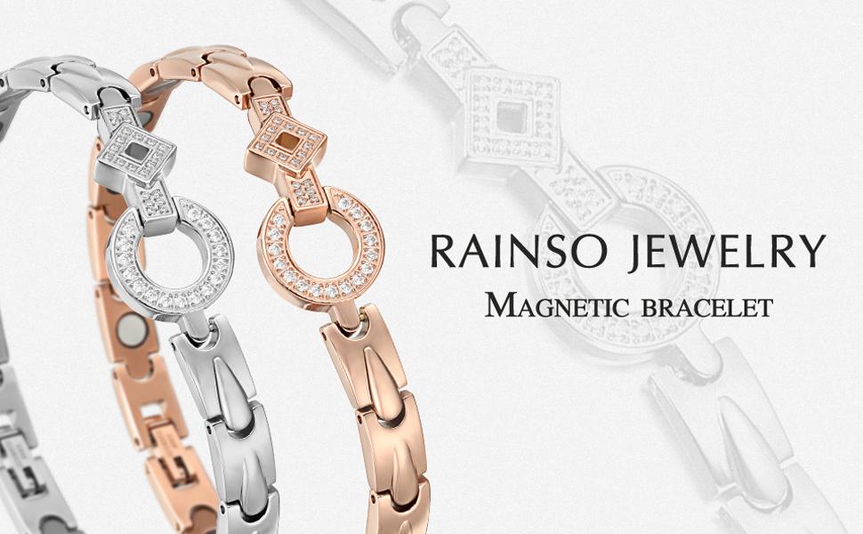 RainSo Magnetic Bracelet for Women