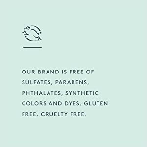 sulfate-free, paraben-free, gluten-free, cruelty-free