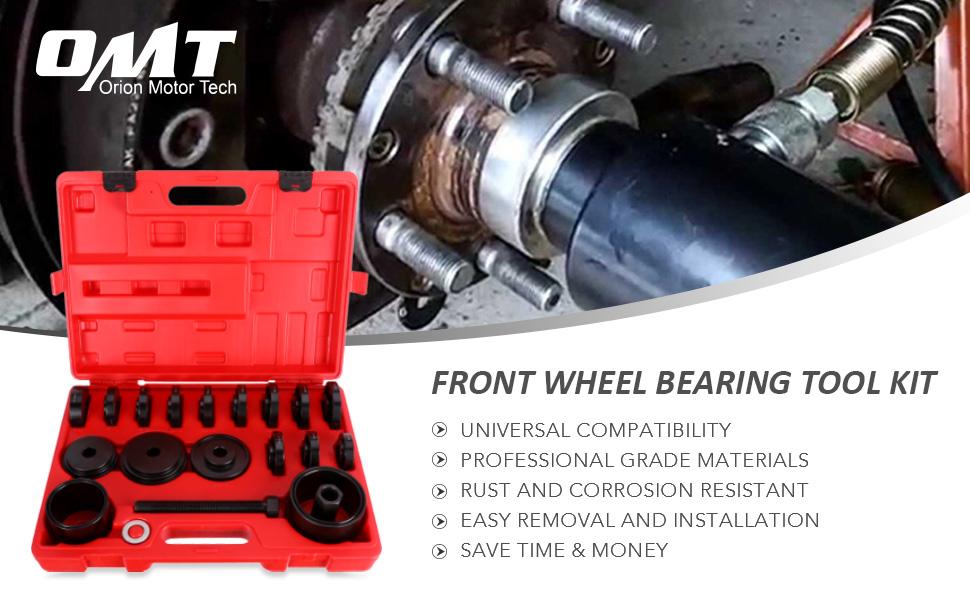 Front Wheel Drive Bearing Adapters Puller Separator