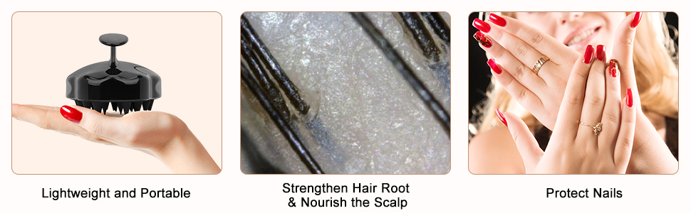item can not only help foam, but also better help you clean your hair, remove dandruff and exfoliate