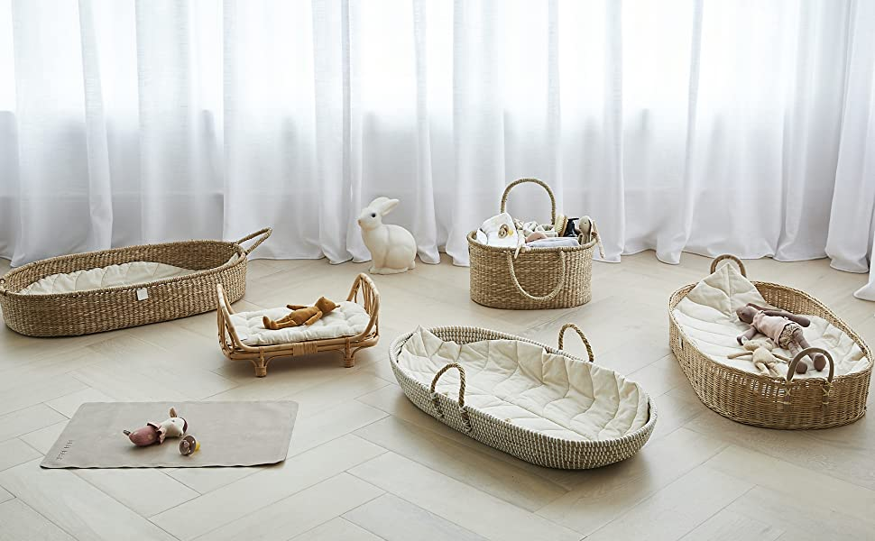 bebe bask changing basket diaper caddy bon bon doll bed