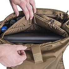 Adaptive Green Helikon Urban Courier Bag Medium Mens Crossbody Laptop Coyote