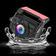 A6 waterproof rear cam