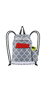 durable string backpack