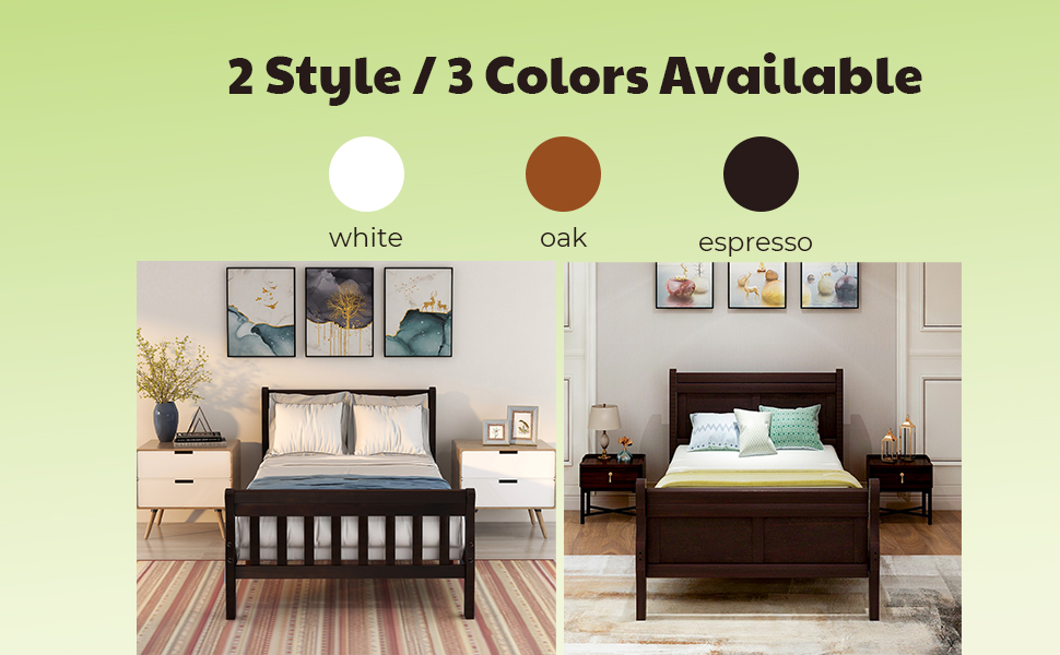 bed for kids room wood twin bed for boys girls bed black white bed frame