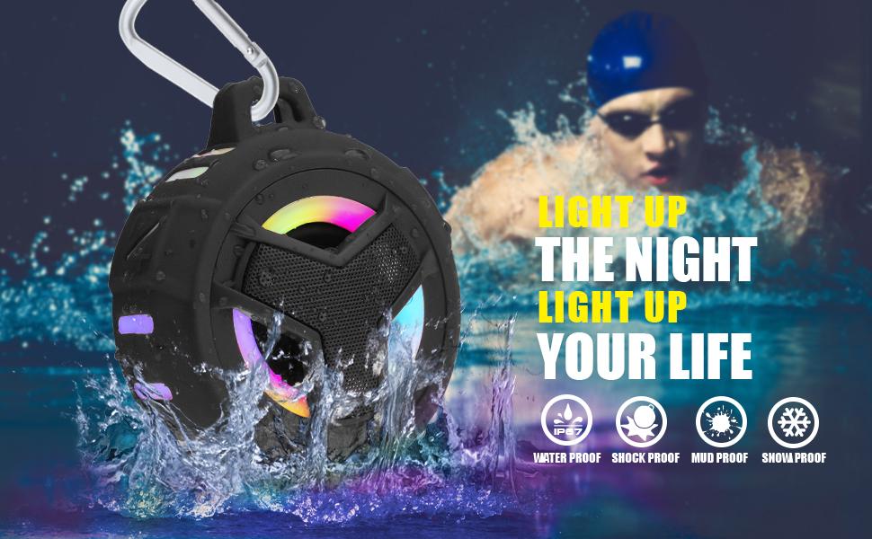 waterproof shower speaker bluetooth