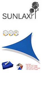 triangle curved edge solar shade sunsail for summer outdoor patio yard playground anti hot