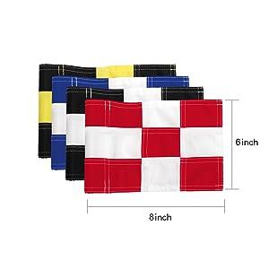 Checkered Golf Flag