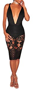 Sexy Lace Dresses For Party Cocktail Club Night
