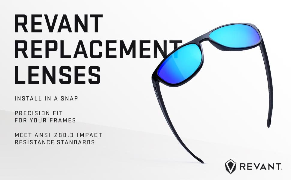 Fuse Lenses Polarized Replacement Lenses for Smith Optics Edgewood