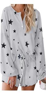 cute pajamas sets for women
