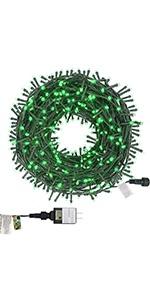 St Patricks Day String Lights