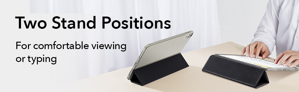 two stand positions