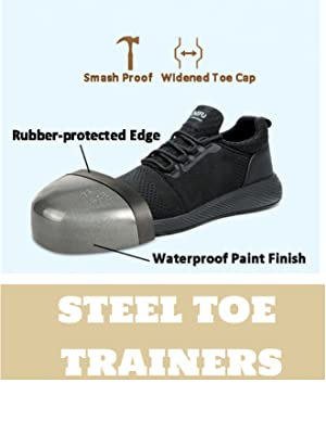 Safety Shoes Men Women Steel Toe Trainers