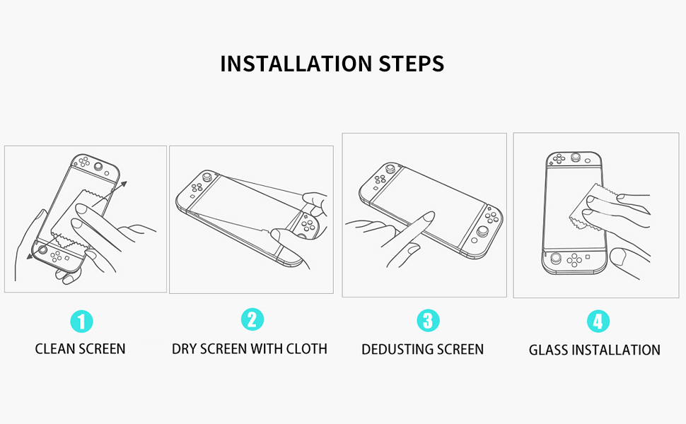 Switch Lite Screen Protector