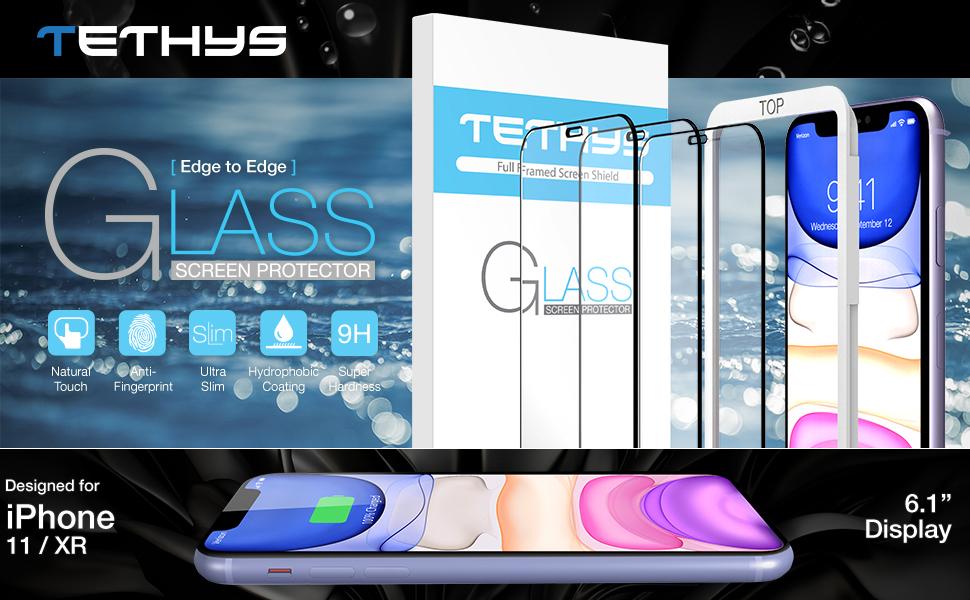 TETHYS iPhone 11 XR screen protector