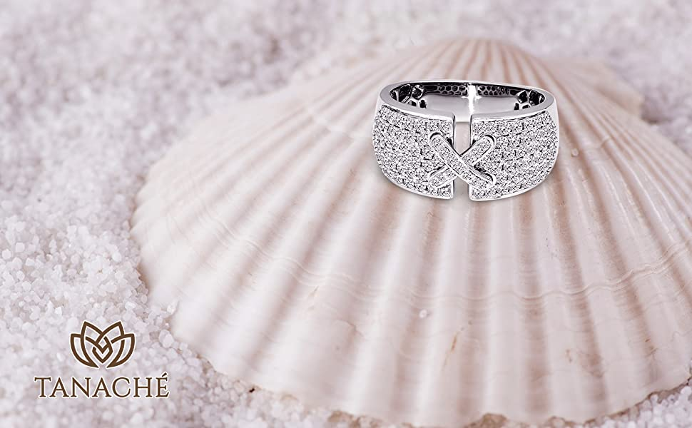 Details about  /.50ct Round Natural Diamonds Real 14K White Gold I//I3 IGI Certified Promise Ring