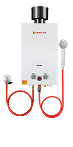 Camplux BW422 Calentador de Agua a Gas, LPG Instantáneo ...