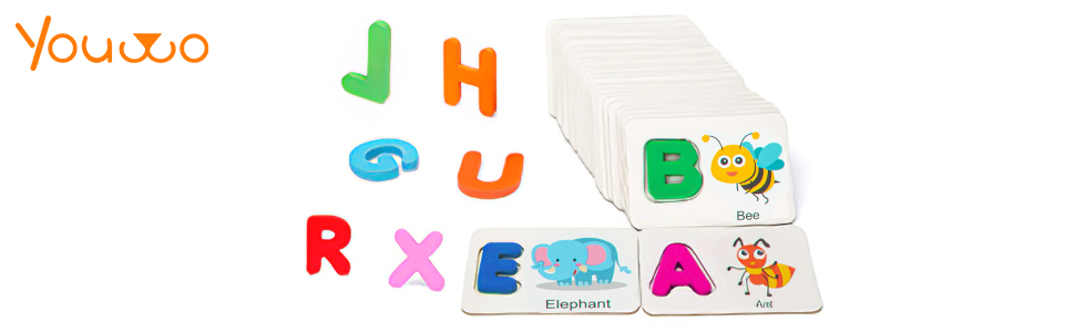 Youwo alphabet puzzle
