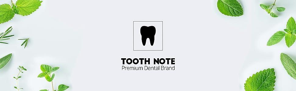 TOOTH NOTE premium dental brand