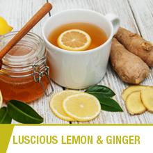 ginger ashwagandha lemon drop cups pot masala