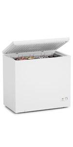7 Cu Ft White Chest Freezer