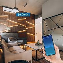 Voice APP Control Smart Alexa Wandschalter