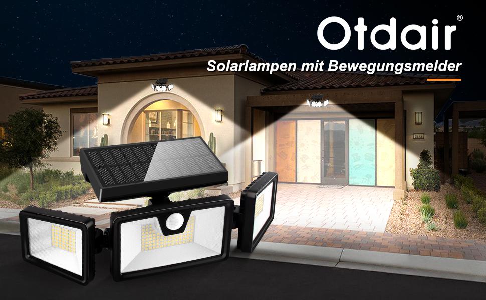 led solar bewegungsmelder außen