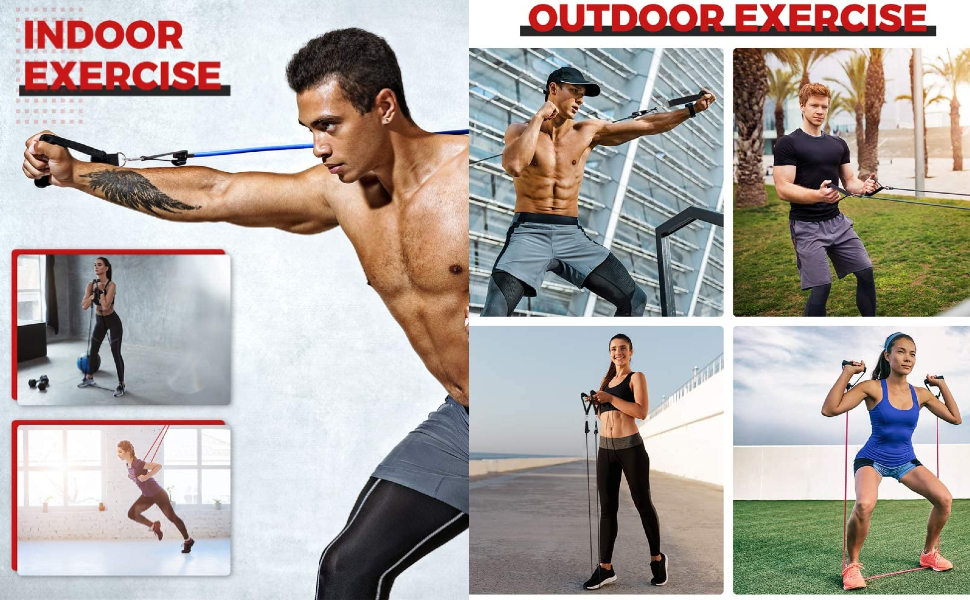 Premium Resistance Band Exercise Cord