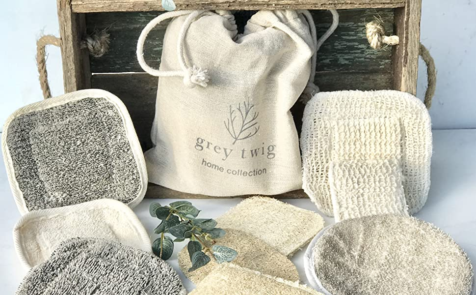 eco sponges kitchen sponges hemp washcloth cleaning sponges loofah scrubbers for the shower