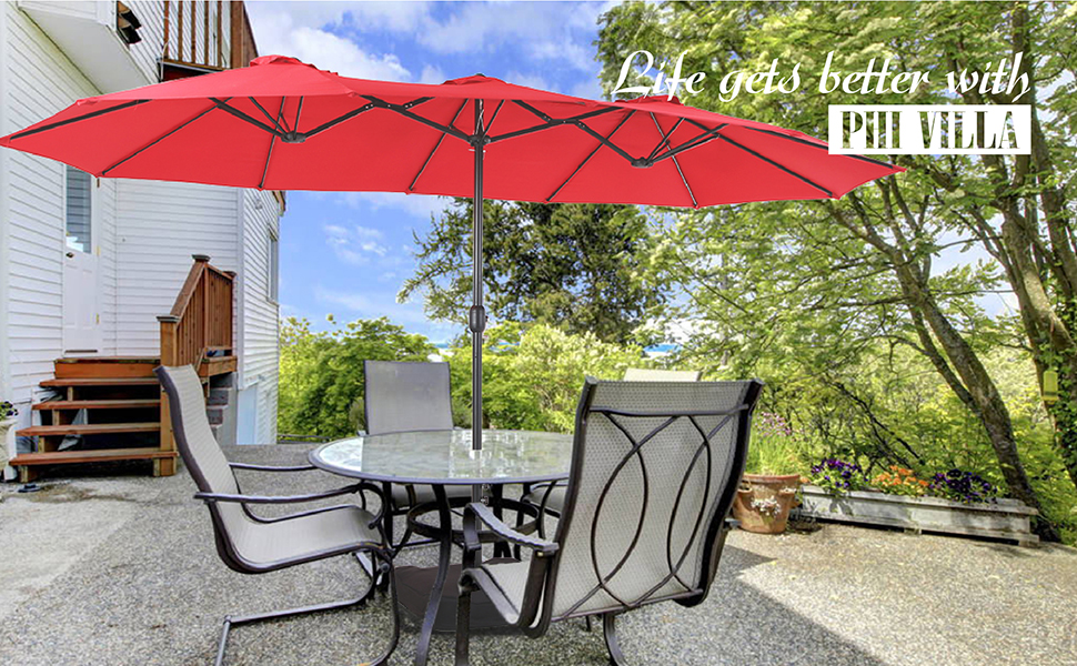large patio umbrella