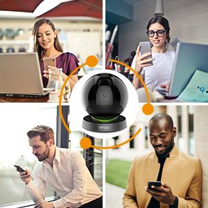 caméra connectée smartphone