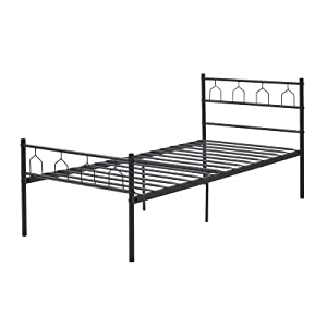 Solid single bed