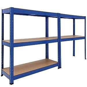 étagère charge lourde etagere de rangement rayon magasin rayonnage celier atelier entreprise stock