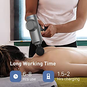 pain-relief fascial gun muscle massager