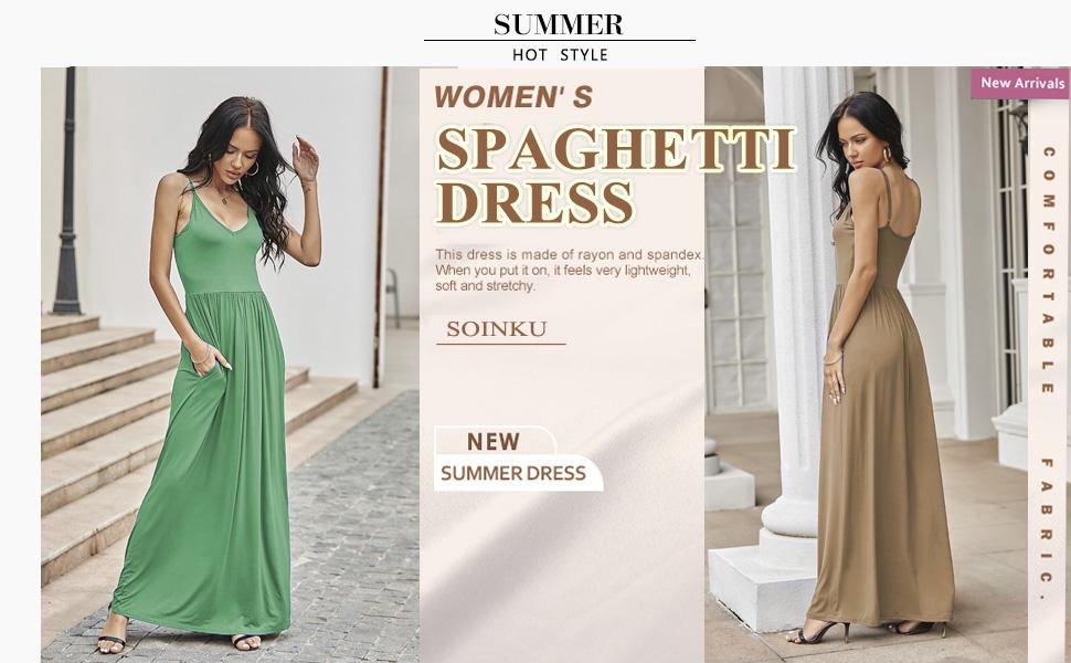 solid color maxi dress