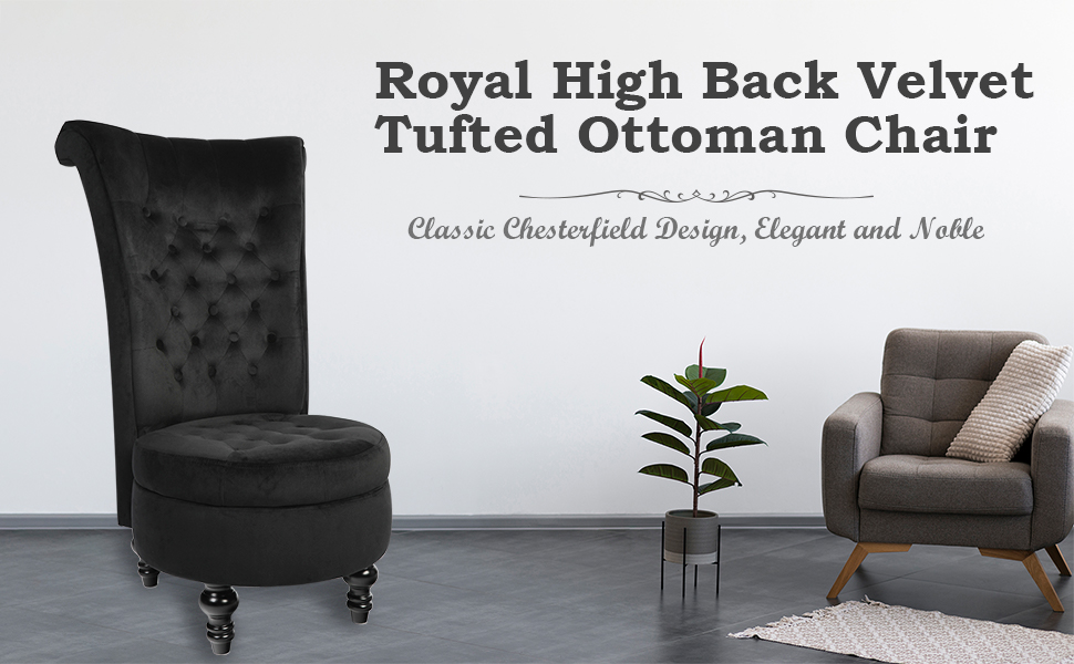 Royal High Back Chair