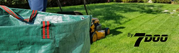 7doo Sacos Jardin Set 2X 300L 2da Generación, Bolsas Basura Jardin, Bag, Cesto Jardin, Herramientas Jardinería Kit Jardineria Productos De Jardineria Bolsa Reutilizable Contenedores En Polipropileno: Amazon.es: Jardín