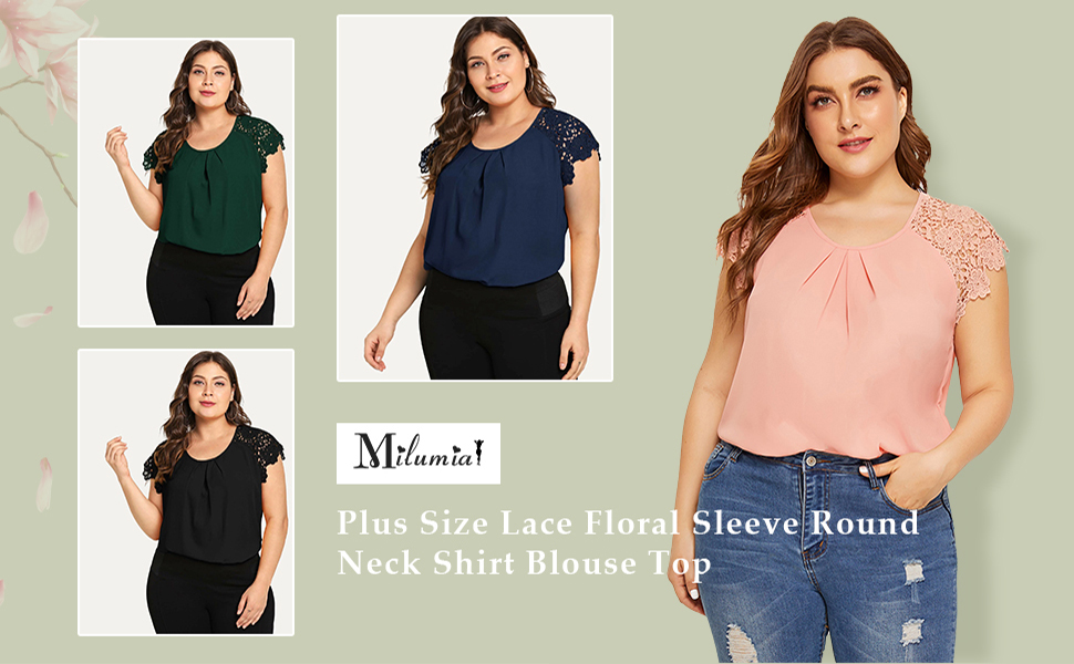 plus size casual fashion tops blouses for women