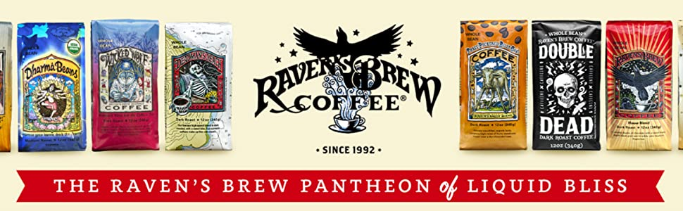 Raven's Brew Coffee - Roasted Coffee Beans - Espresso, Cold Brew, Drip Coffee