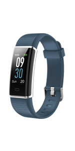 willful fitness tracker with heart rate monitor watch