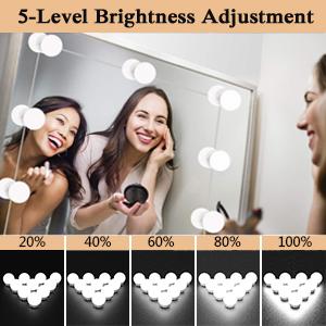 5 level brightness