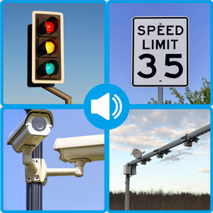 Speeding Camera warning